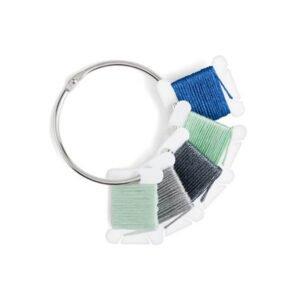 DMC plastikinės ritės su metaliniu žiedu